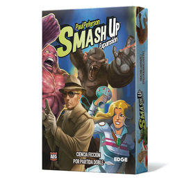 JUEGO DE CARTAS SMASH UP EXPANSION CIENCIA FICCION POR PARTIDA DOBLE