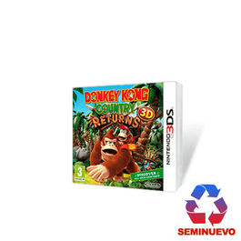 DONKEY KONG COUNTRY RETURNS 3DS (SEMINUEVO)