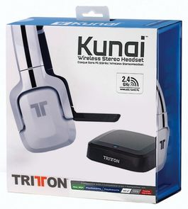 AURICULARES HEADSET TRITTON KUNAI WIRELESS BLANCOS PS4-PS4-PS VITA-X360-PC-MAC