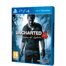 UNCHARTED 4 EL DESENLACE DEL LADRON PS4