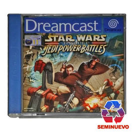 STAR WARS EPISODE 1 JEDI POWER BATTLES DREAMCAST (SEMINUEVO)