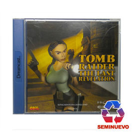 TOMB RAIDER THE LAST REVELATION DREAMCAST (SEMINUEVO)