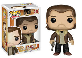 FIGURA POP WALKING DEAD RICK GRIMES 9 CM