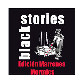 JUEGO DE CARTAS BLACK STORIES MARRONES MORTALES
