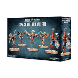WH 40K ADEPTUS ASTARTES SPACE WOLVES WULFEN (CAJA)
