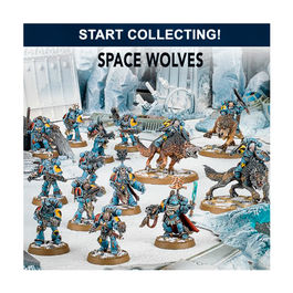 WH 40K START COLLECTING! SPACE WOLVES (CAJA LOBOS ESPACIALES)