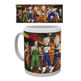 TAZA DRAGON BALL Z FIGHTERS