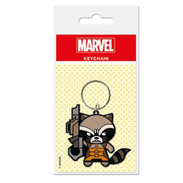 LLAVERO MARVEL KAWAII ROCKET RACCOON 6 CM