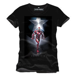 CAMISETA MARVEL CAPITAN AMERICA CIVIL WAR JUSTICE