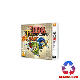 THE LEGEND OF ZELDA TRI FORCE HEROES 3DS (SEMINUEVO)