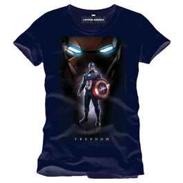 CAMISETA CAPITAN AMERICA CIVIL WAR FREEDOM