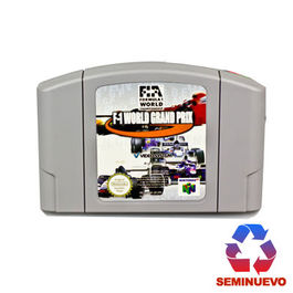 F1 WORLD GRAND PRIX NINTENDO 64 (SEMINUEVO)