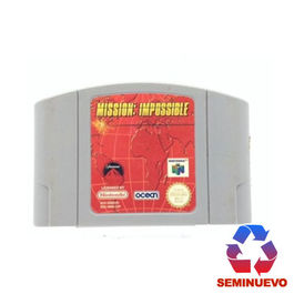 MISSION IMPOSSIBLE N64 (SEMINUEVO)