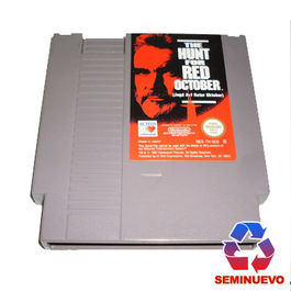 THE HUNT FOR RED OCTOBER NINTENDO NES (SEMINUEVO) PAL ESP