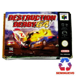 DESTRUCTION DERBY 64 NINTENDO 64 (SEMINUEVO)