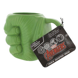 TAZA MARVEL HULK FIST SHAPED 13 CM