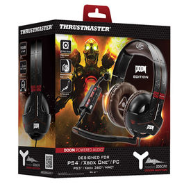 AURICULARES HEADSET THRUSTMASTER Y300 CPX DOOM EDITION PS4/PS3/XONE/X360/PC