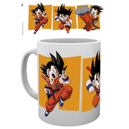 TAZA DRAGON BALL Z GOKU KICK