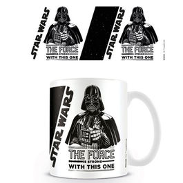 TAZA STAR WARS THE FORCE IS STRONG