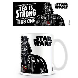 TAZA STAR WARS THE TEA IS STRONG