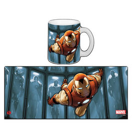 TAZA MARVEL IRON MAN HALL OF ARMOR