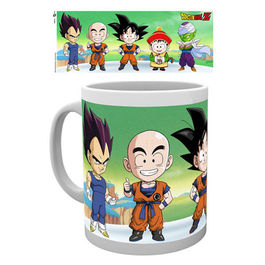 TAZA DRAGON BALL Z CHIBI