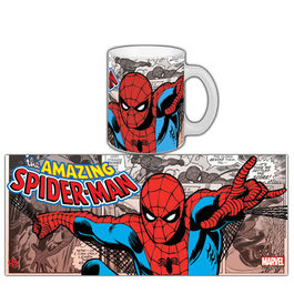TAZA MARVEL COMICS RETRO SPIDER-MAN