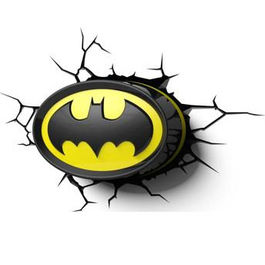 LAMPARA 3D LED DC COMICS BATMAN LOGO