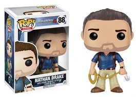 FIGURA POP UNCHARTED 4 NATHAN DRAKE 9 CM
