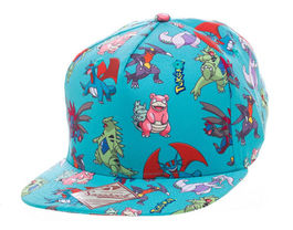 GORRA NINTENDO BEISBOL POKEMON CARACTERS ALL OVER