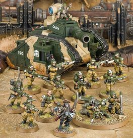 WH 40K START COLLECTING! ASTRA MILITARUM (CAJA ASTRA MILITARUM)