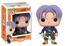 FIGURA POP DRAGON BALL Z TRUNKS 10 CM