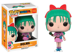 FIGURA POP DRAGON BALL Z BULMA 10 CM