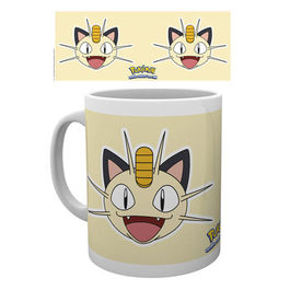 TAZA POKEMON MEOWTH FACE