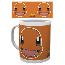 TAZA POKEMON CHAMANDER FACE