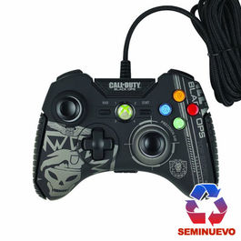 CONTROLLER CON CABLE MAD CATZ CALL OF DUTY BLACK OPS XBOX 360 semi