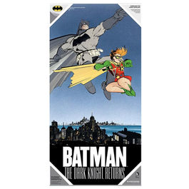 POSTER DE VIDRIO BATMAN THE DARK KNIGHT RETURNS BATMAN & ROBIN 60x30 CM
