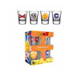 PACK VASOS DE CHUPITOS DRAGON BALL Z