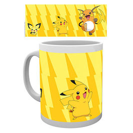 TAZA POKEMON PIKACHU EVOLVE