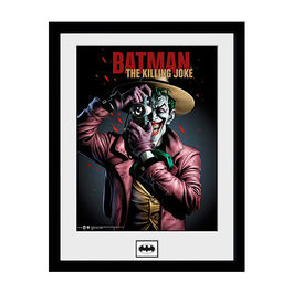 POSTER ENMARCADO BATMAN THE KILLING JOKE 45 x 34 CM