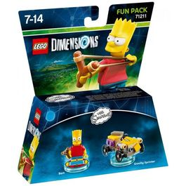 LEGO DIMENSIONS FUN PACK THE SIMPSON BART