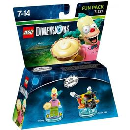 LEGO DIMENSIONS FUN PACK THE SIMPSON KRUSTY