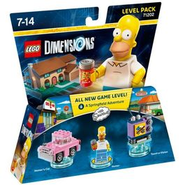 LEGO DIMENSIONS LEVEL PACK THE SIMPSON