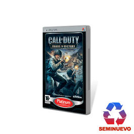 CALL OF DUTY ROADS TO VICTORY PLATINUM PSP (SEMINUEVO)