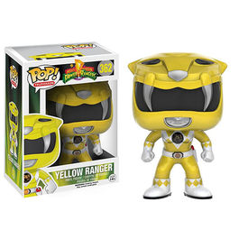 FIGURA POP POWER RANGERS AMARILLO 9 CM