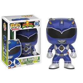 FIGURA POP POWER RANGERS AZUL 9 CM