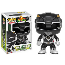 FIGURA POP POWER RANGERS NEGRO 9 CM