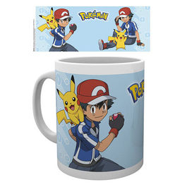 TAZA POKEMON ASH