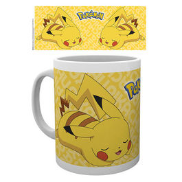 TAZA POKEMON PIKACHU REST