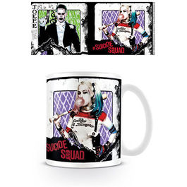 TAZA DC COMICS SUICIDE SQUAD PLAYING CARD